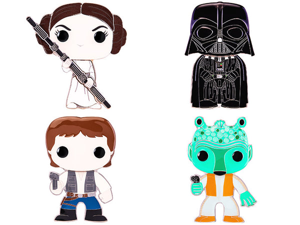 Funko Pop Pin Star Wars Collection(Chance of Chase)