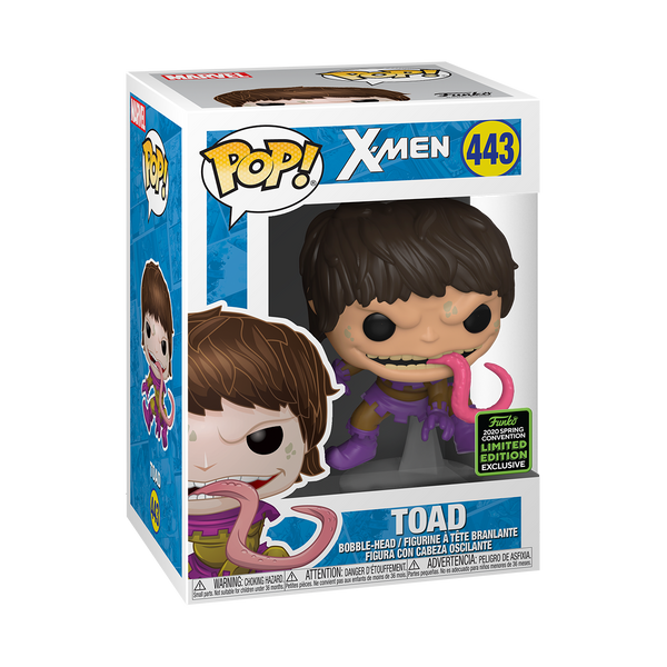 **Pre-Order** Funko Pop X-Men Toad (ECCC 2020 Shared Exclusive)
