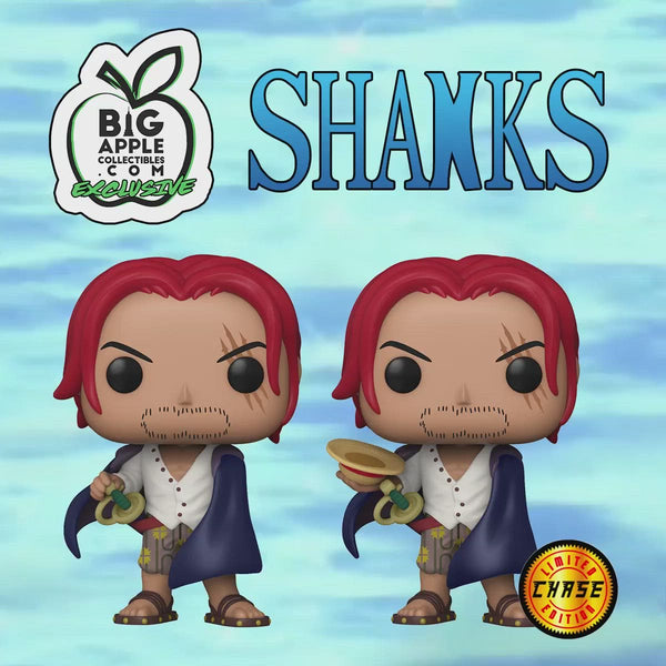 **Pre-Order** Funko Pop Animation One Piece Shanks with chance at the chase (BAC Exclusive) not valid for free shipping