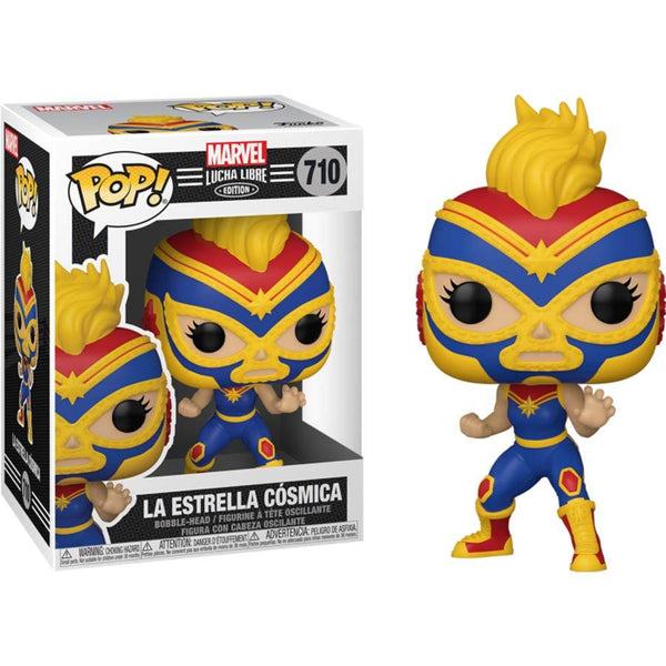 Funko Pop Marvel Luchadores Captain Marvel