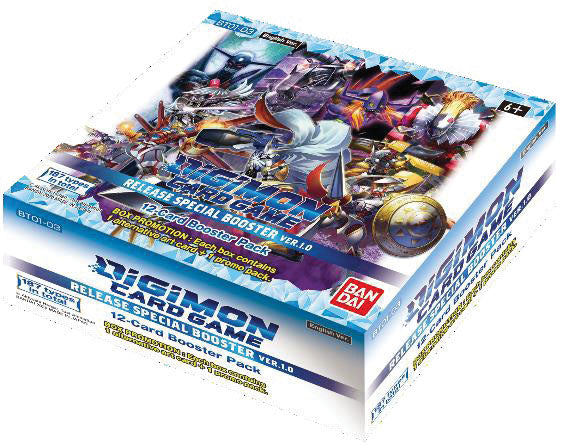 Digimon TCG: Release Special Booster Display Ver. 1.0 (24)