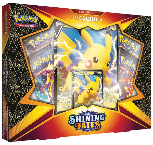 **Pre-Order** Pokemon TCG: Shining Fates Collection - Pikachu V (Not valid for free shipping)