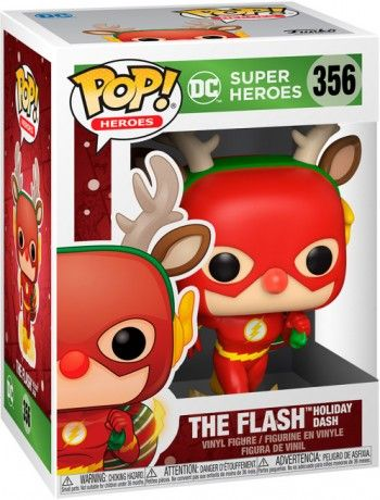 Funko Pop D.C. Holiday Rudolph Flash