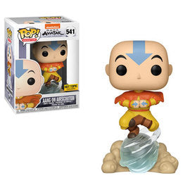 Funko Pop Animation Avatar  Aang on AirScooter (Hot Topic Exclusive)