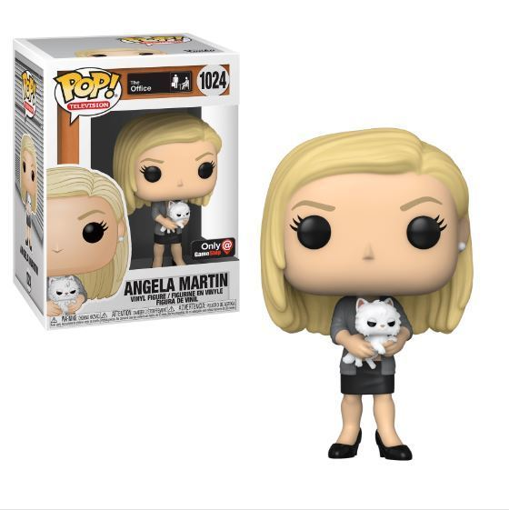 Funko Pop TV!  The Office Angela Martin with Sprinkles (Gamestop Exclusive)