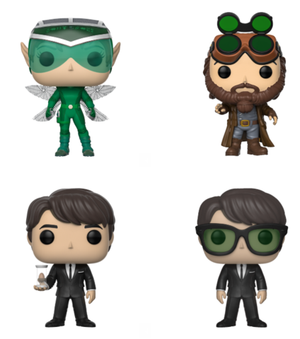 Funko Pop Artemis Fowl Bundle