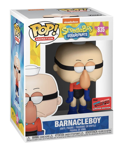 **Pre-Order** Funko Pop Animation SpongeBob SquarePants Barnacleboy (NYCC 2020 Shared Exclusive)
