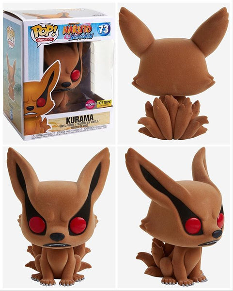 **Pre-Order** Funko Pop Animation Naruto Kurama Flocked (Hot Topic Exclusive) not valid for free shipping