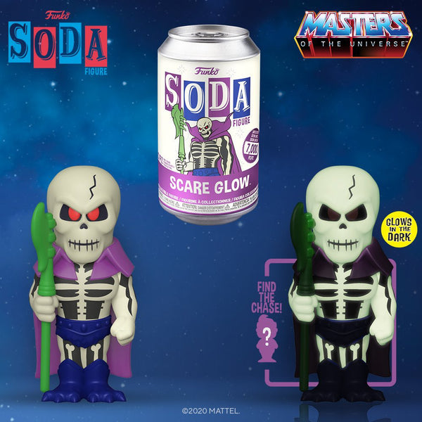 Funko Vinyl Soda Masters of the Universe Scare Glow with chance at a chase
