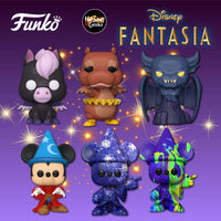 **Pre-Order** Funko Pop Disney Fantasia 80th Anniversary Bundle of 6 (Enter Free Shipping in the Promo box at checkout valid in the USA only)