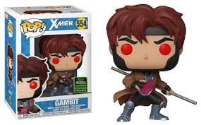Funko Pop X-Men Gambit ECCC Exclusive (Shared Sticker)
