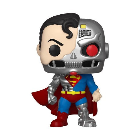 Funko Pop D.C. Cyborg Superman (Shared SDCC 2020 Sticker)