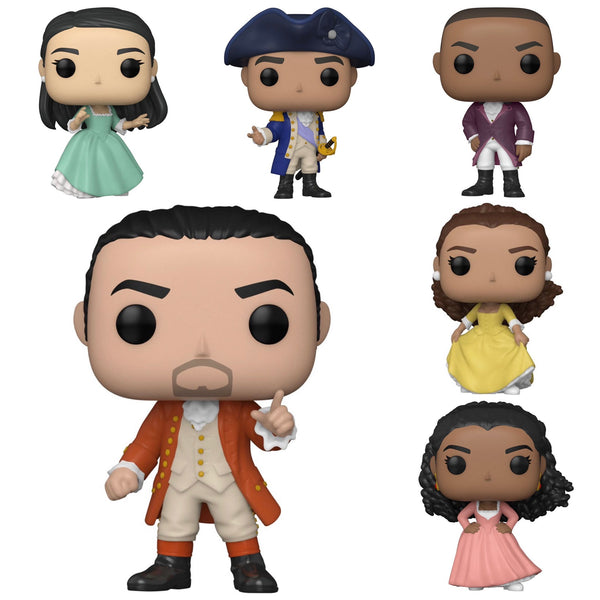 **Pre-Order** POP Movies: Hamilton- Bundle of 6 ETA: July