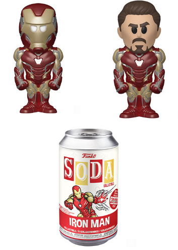 **Pre-Order** Funko Vinyl SODA: Endgame - Iron Man w/chance at chase
