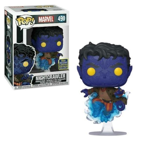 Funko Pop Marvel Night Crawler  SDCC 2020 (Shared Sticker)