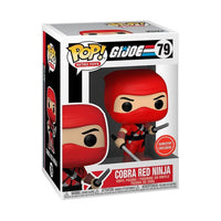 ** Pre-Order **Funko Pop Games Retro Toys G.I Joe Cobra Red Ninja (GameStop Exclusive) Not valid for free shipping