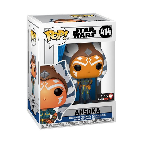Funko Pop Star Wars: Clone Wars Ahsoka (Gamestop Exclusive)