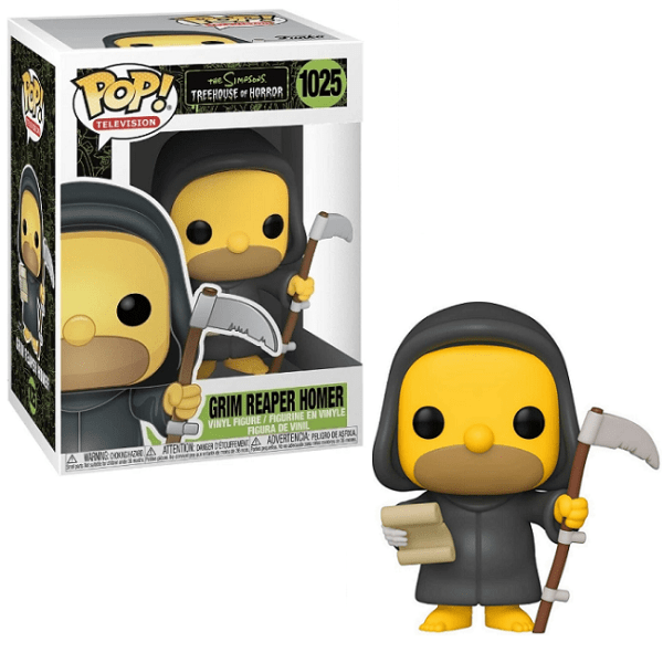 Funko Pop Animation The Simpsons Reaper Homer
