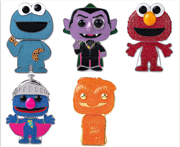 ** Pre-Order** Funko Pop Pin Sesame Street Collection