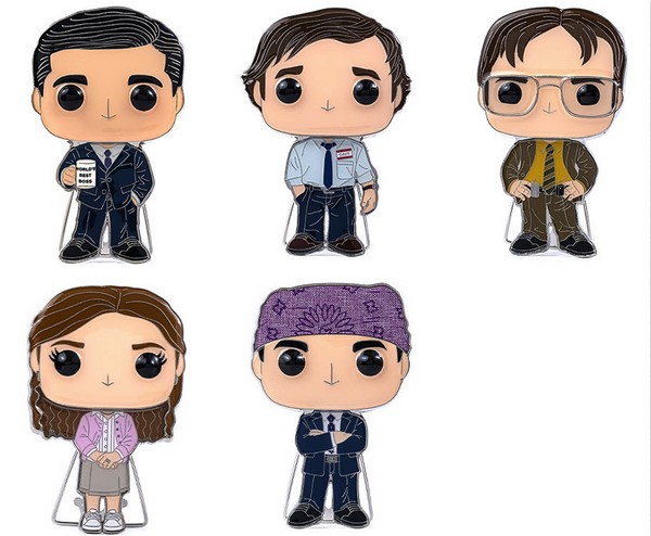 Funko Pop Pin The Office Collection