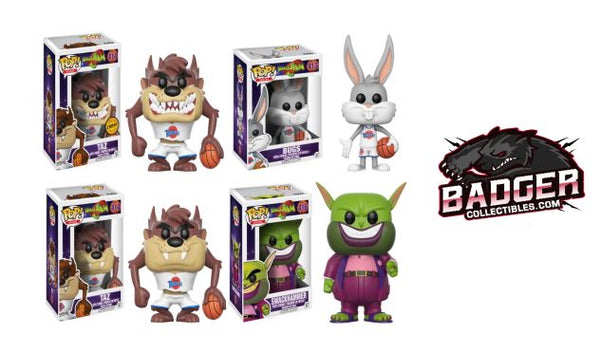 **Pre-Order** Funko Pop Movies Space Jam Bundle (Enter Free Shipping in the Promo box at checkout valid in the USA only)