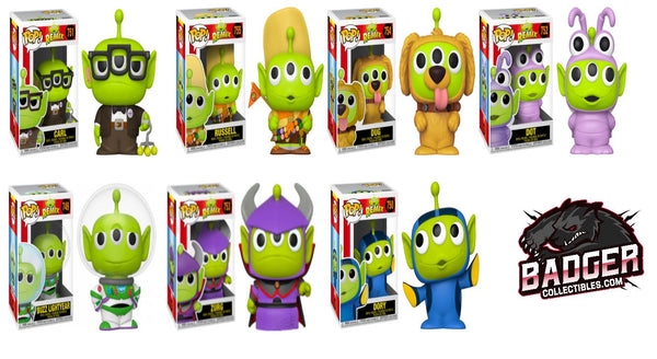 Funko Pop Disney Alien Remix Alien Bundle Wave 1 (Enter Free Shipping in the Promo box at checkout valid in the USA only)