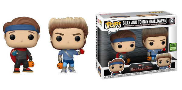 **Pre-Order** Funko Pop Marvel WandaVision Billy and Tommy (2021 ECCC Shared Sticker) Not valid for free shipping