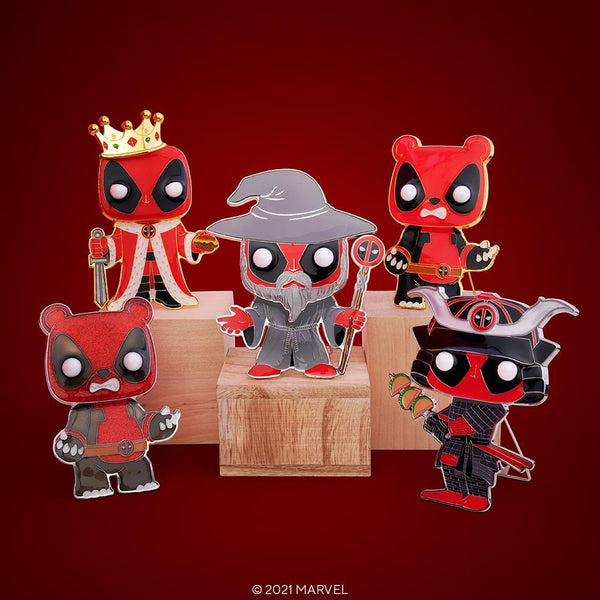 **PRE-ORDER** Funko Pop! Pins: Marvel Deadpool - Includes Chase