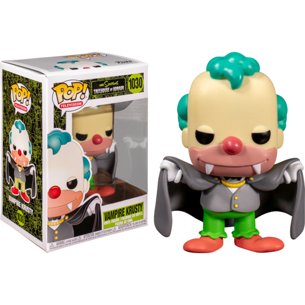 Funko Pop Animation The Simpsons Vampire Krusty