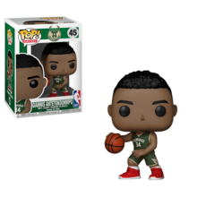 ** Pre-Order ** Funko NBA Milwaukee Bucks Giannis Antetokounmpo