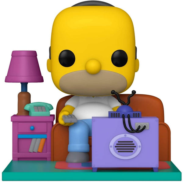 Funko Pop Animation The Simpsons Homer Watching TV (Deluxe)