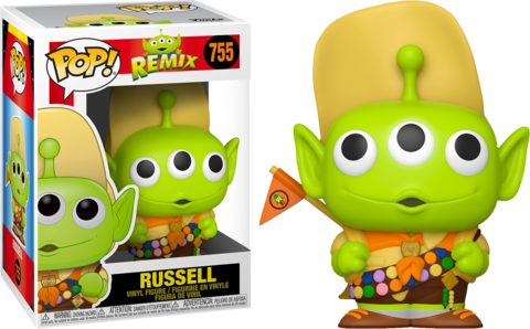 Funko Pop Disney Alien Remix Alien as Russell