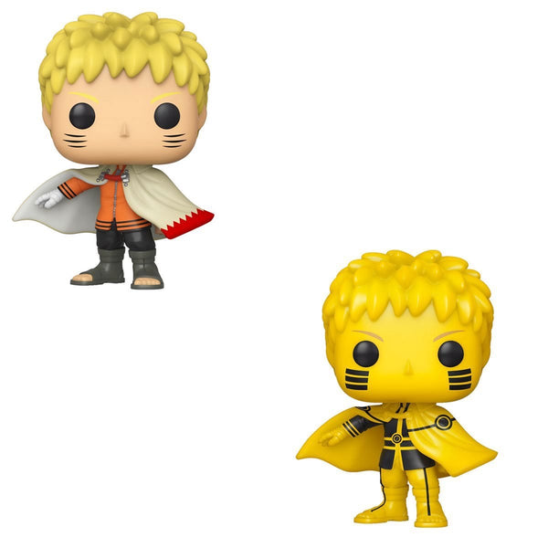 **Pre-Order** Funko Pop Animation Naruto Next Generations Naruto Hokage AAA Anime Exclusive Bundle (Common + Chase) Not valid for free shipping