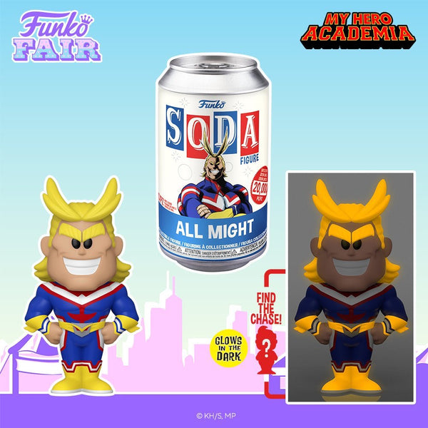 **Pre-Order** Funko Soda MyHero Academia All Might chance At The Chase