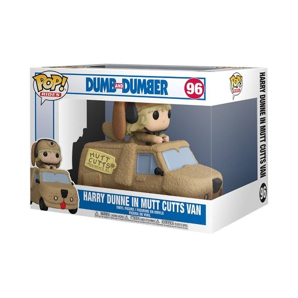 Funko Pop Rides Dumb & Dumber Harry with Mutts Cutts Van