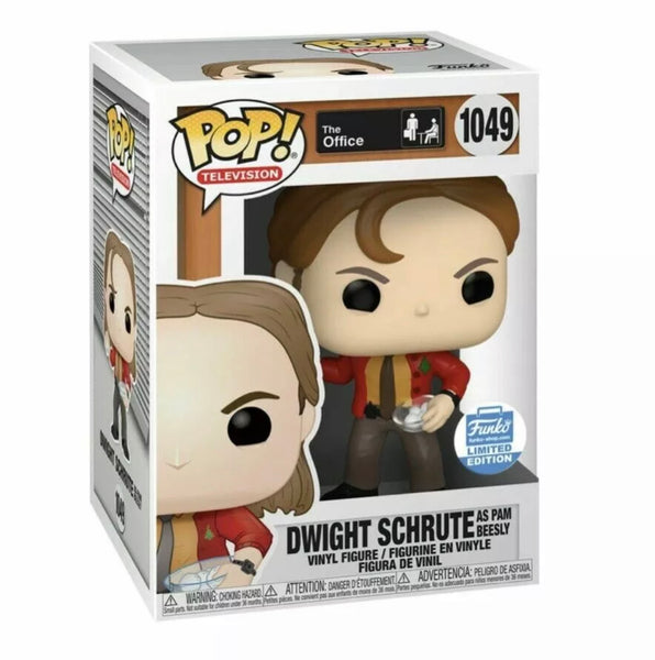 Funko Pop TV! Dwight as Pam with Snowballs (Funko Shop Exclusive) not valid for free shipping
