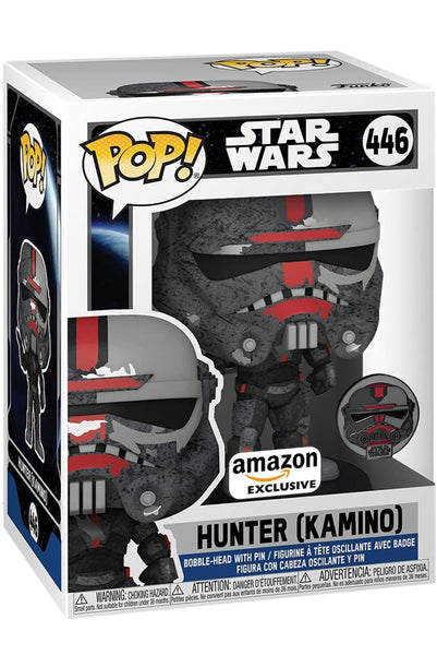 **Pre-Order** Funko Pop & Pin Star Wars Bad Batch Hunter Kamino (Amazon Exclusive) not valid for free shipping