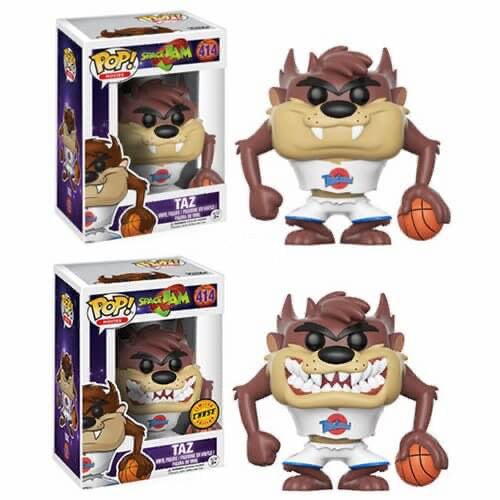 Funko Pop Movies Space Jam Taz Bundle (Chase+Common)