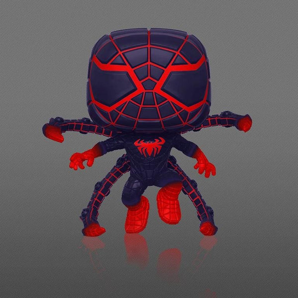 **Pre-Order** Funko Pop Games Marvel Miles Morales P.M. Exclusive (Gamestop Exclusive) Not valid for free shipping