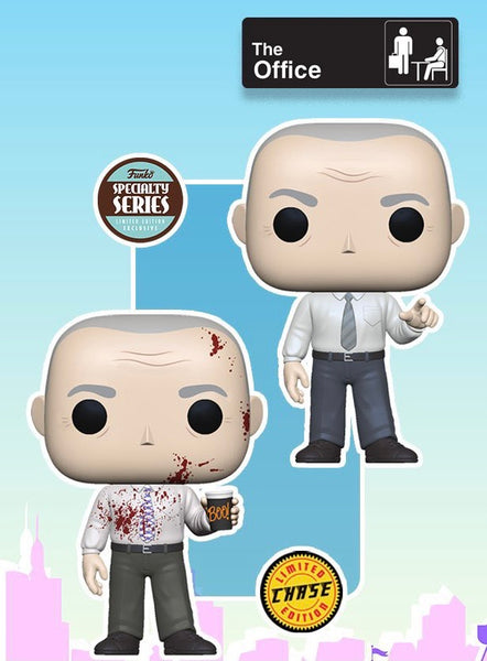 **Pre-Order** Funko Pop TV The Office Creed Specialty Series Bundle (Chase + Common)