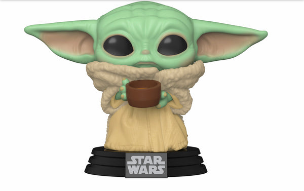 Funko Pop The Mandalorian The Child With Cup