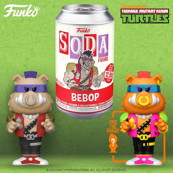 Funko Pop Vinyl Soda TMNT Bebop with chance at chase (Wave 8)
