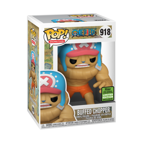 **Pre-Order** Funko Pop Animation One Piece Buffed Chopper (2021 ECCC Shared Exclusive) Not valid for free shipping