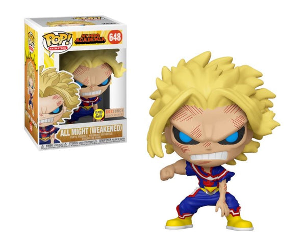 **Pre-Order** Funko Pop Animation My Hero Academia All Might (Weakened) BoxLunch Exclusive