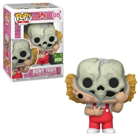 **Pre-Order** Funko Pop Garbage Pail Kids Bony Tony (2021 ECCC Shared Sticker) Not valid for free shipping