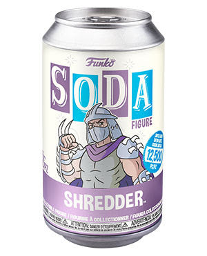 Funko Soda TMNT Shredder with chance at chase.