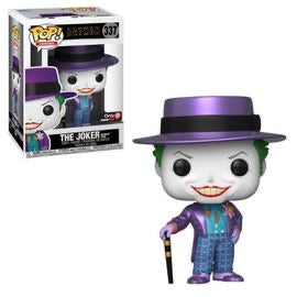 Funko Pop Movies Batman 1989 The Joker with Metallic Hat (GameStop Exclusive)