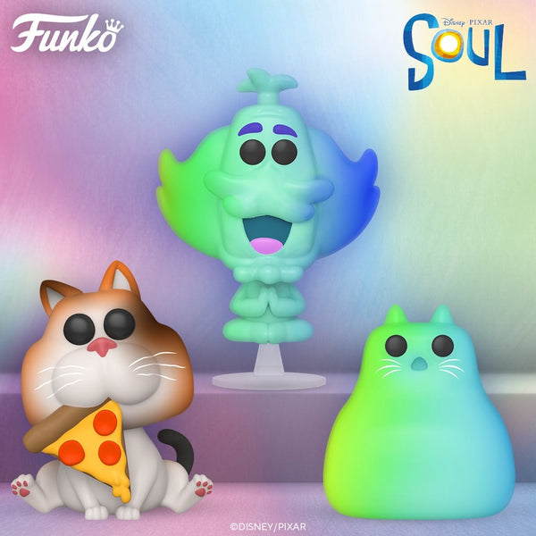 ** Pre-Order **  Funko Pop Disney Soul Bundle of 7 (Enter Free Shipping in the Promo box at checkout valid in the USA only)