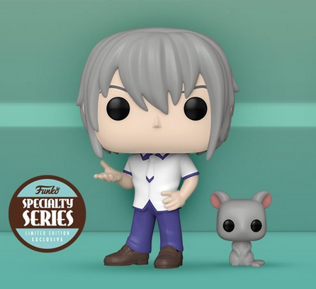 Funko Pop Animation Fruit Baskets Yuki Sohma With Rat (Specialty Series)