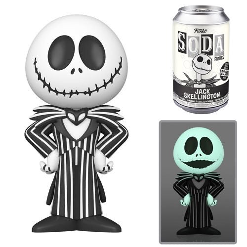 Funko Vinyl Soda Nightmare Before Christmas Jack Skelling With A Chance At A (GITD) Chase